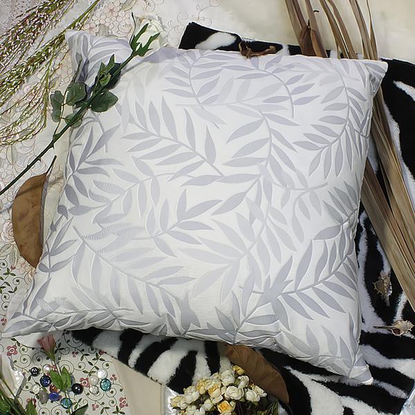 [antique Blue Palm] Decorative Pillow Cushion / Floor Cushion (23.6 By 23.6 Inches)