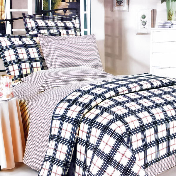 Bedroom Blues Meaning: Plaid Bedding